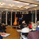 13.12.2014 - Konzert für Klarinette und Harfe