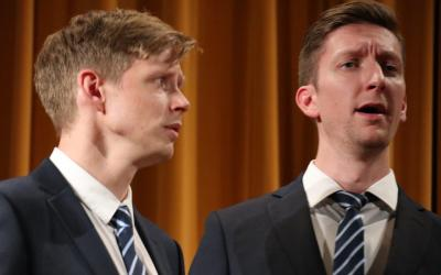 Emanuel Roll und Didier Linder