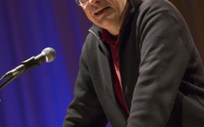 Michael Thumser von der Frankenpost Hof bei der Laudatio auf das Forum Naila (© Harald Dietz Fotografie)